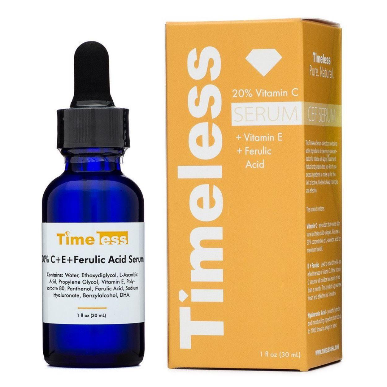 20% Vitamin C Serum + Vitamin E + Ferulic Acid