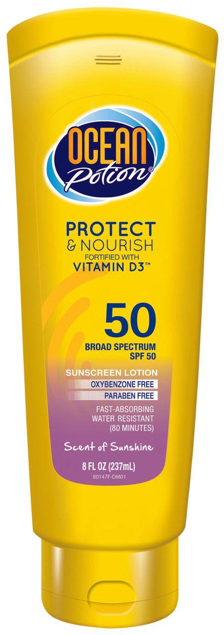 Sunscreen Lotion Protect & Nourish SPF 50 Scent of Sunshine
