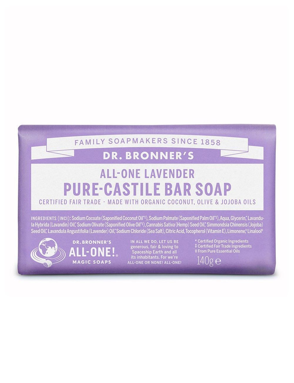 lavender castile bar soap