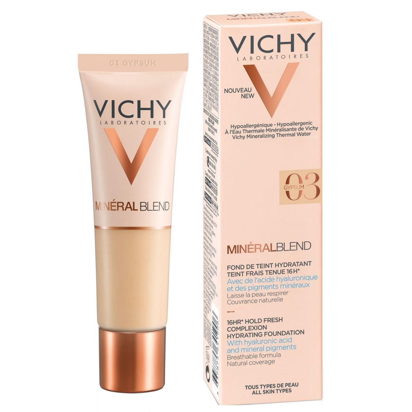 MineralBlend 16HR Hold Fresh Complexion Hydrating Foundation