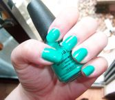 Turned Up Turquoise
