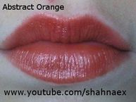 Super Lustrous Lipstick in Abstract Orange