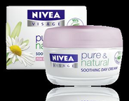 Nivea Visage Pure & Natural Soothing Day Cream