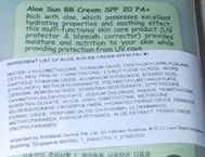 Aloe Sun BB Cream SPF 20 PA+