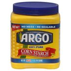 Cornstarch as Dry Shampoo