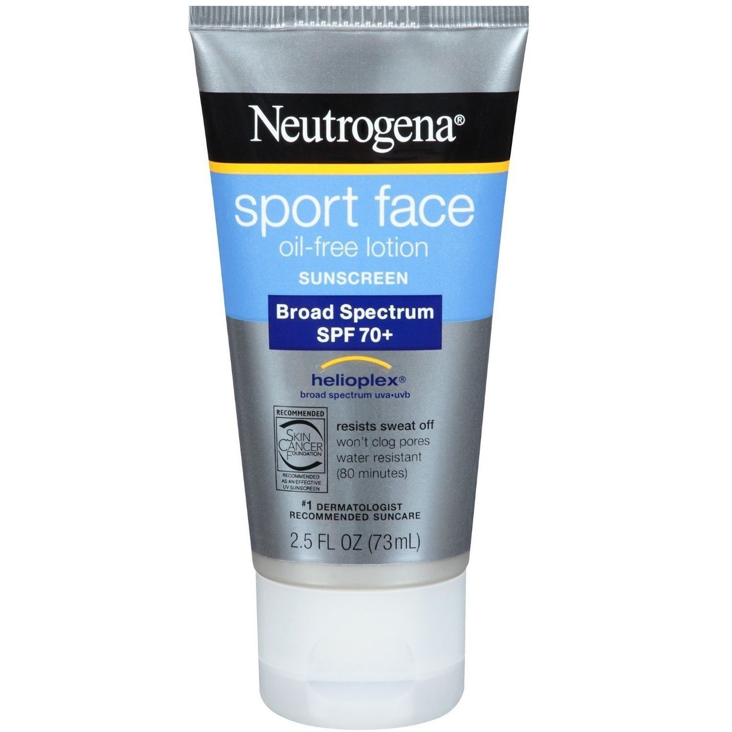 Sport Face Oil-Free Lotion Sunscreen with Broad Spectrum SPF 70+