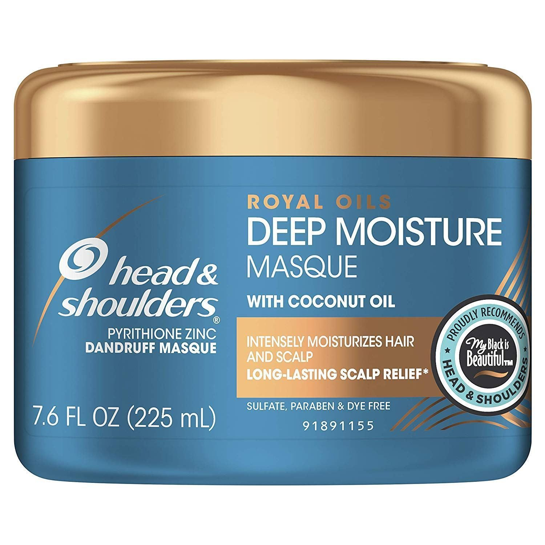 Royal Oils Deep Moisture Masque Conditioner Hair Treatment Anti-Dandruff and Scalp Care