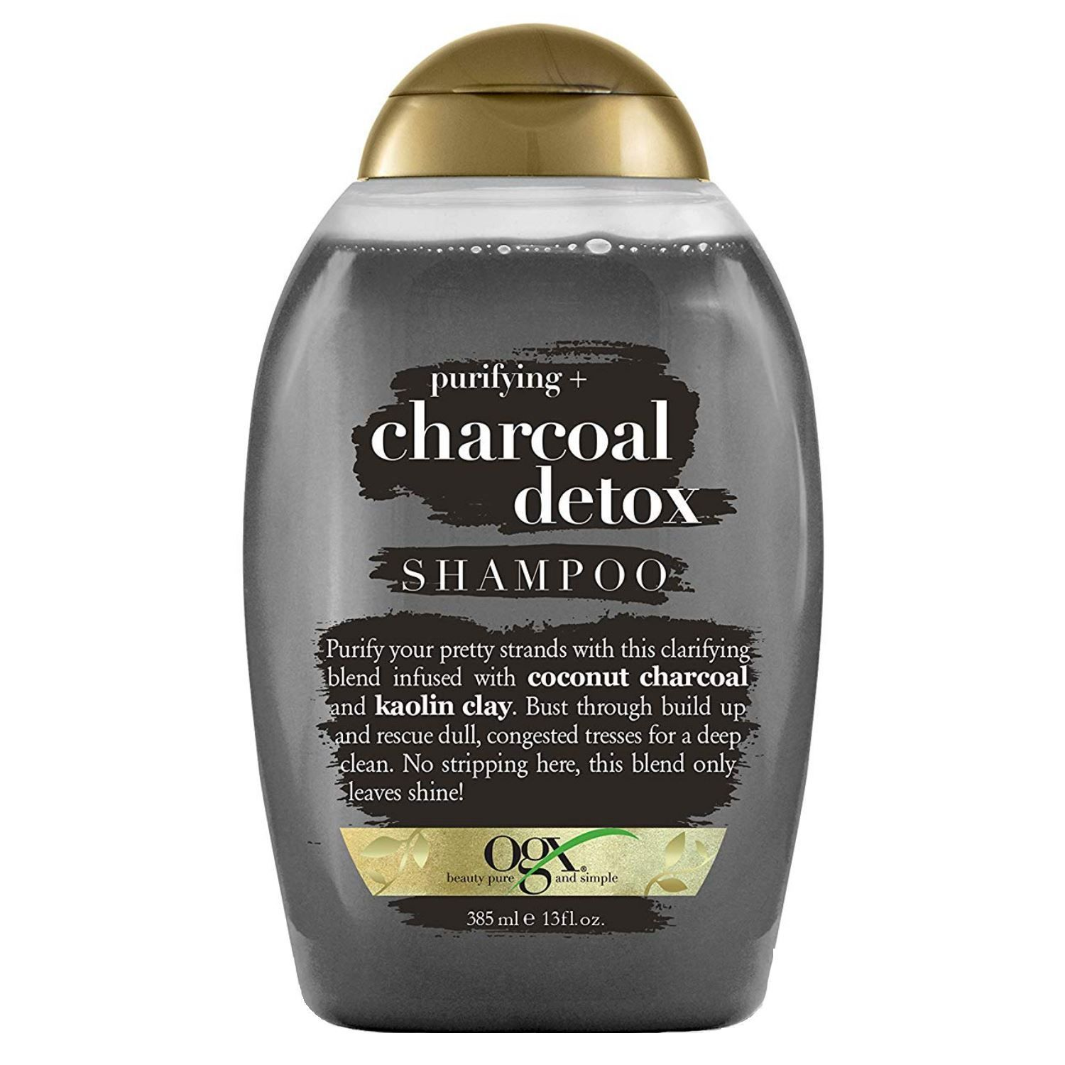 Purifying Charcoal Detox Shampoo