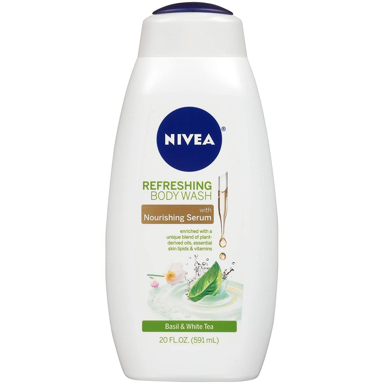 Refreshing Body Wash with Nourishing Serum