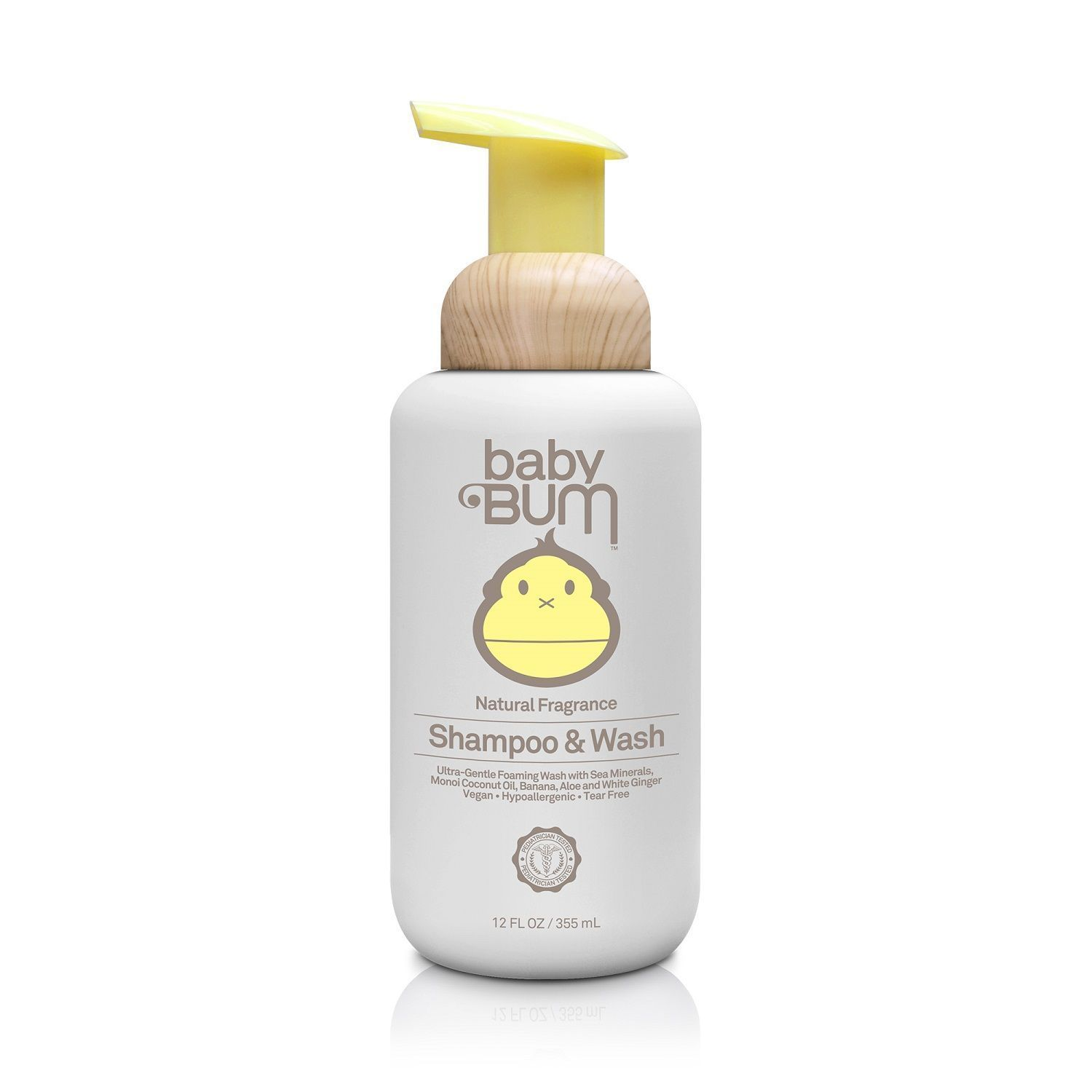 Baby Bum Shampoo & Wash - Natural Fragrance