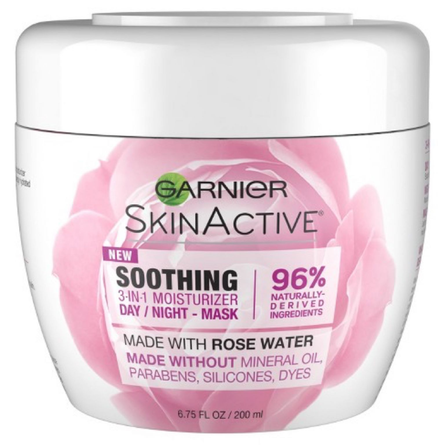 Soothing 3-in-1 Face Moisturizer with Rose Water