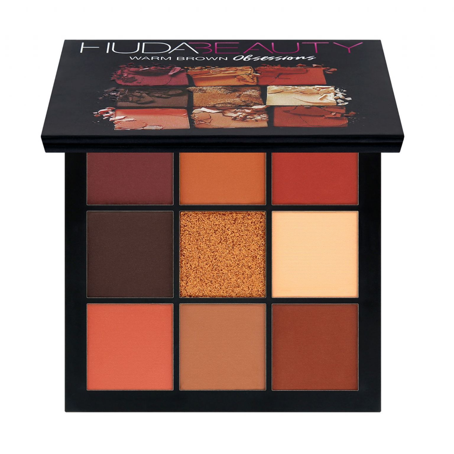 Obsessions Eye Shadow Palette - Warm Browns