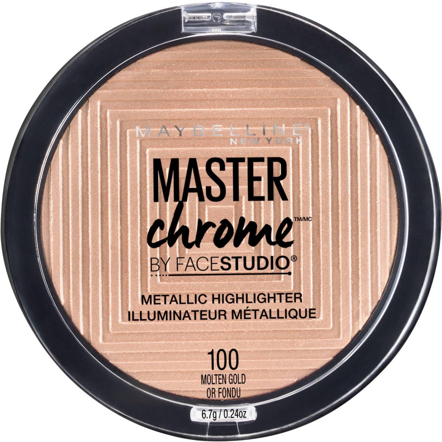 Master Chrome Metallic Highlighter - Molten Gold