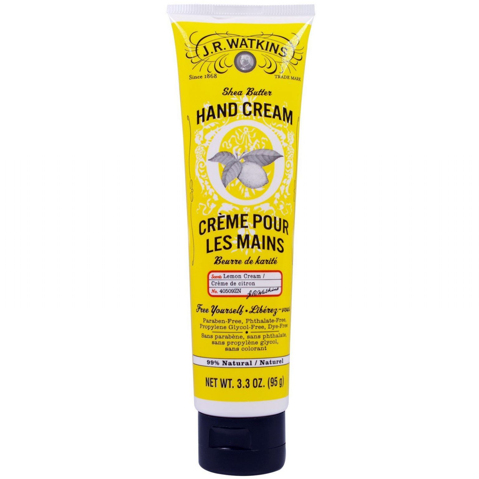 Shea Butter Hand Cream - Lemon Cream