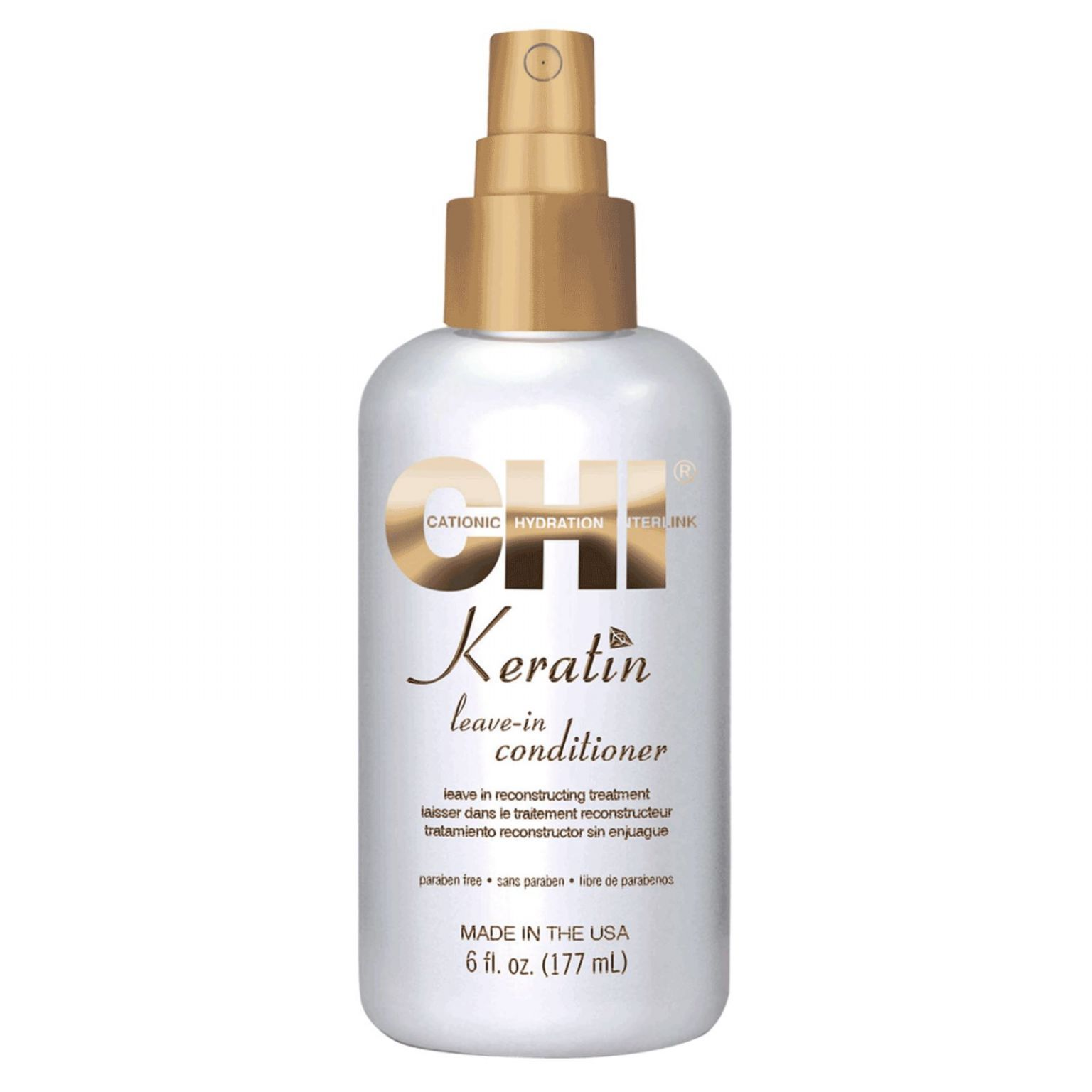 Keratin Leave-In Conditioner Reconstructing Treatment