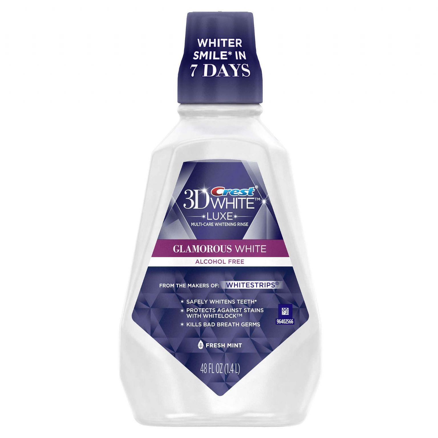 3D White Glamorous White Multi-Care Whitening Mouthwash
