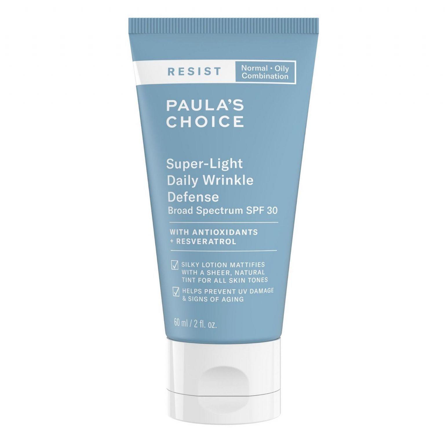 RESIST Super-Light Daily Wrinkle Defense Broad Spectrum SPF 30 - Normal/Oily/Combination Skin