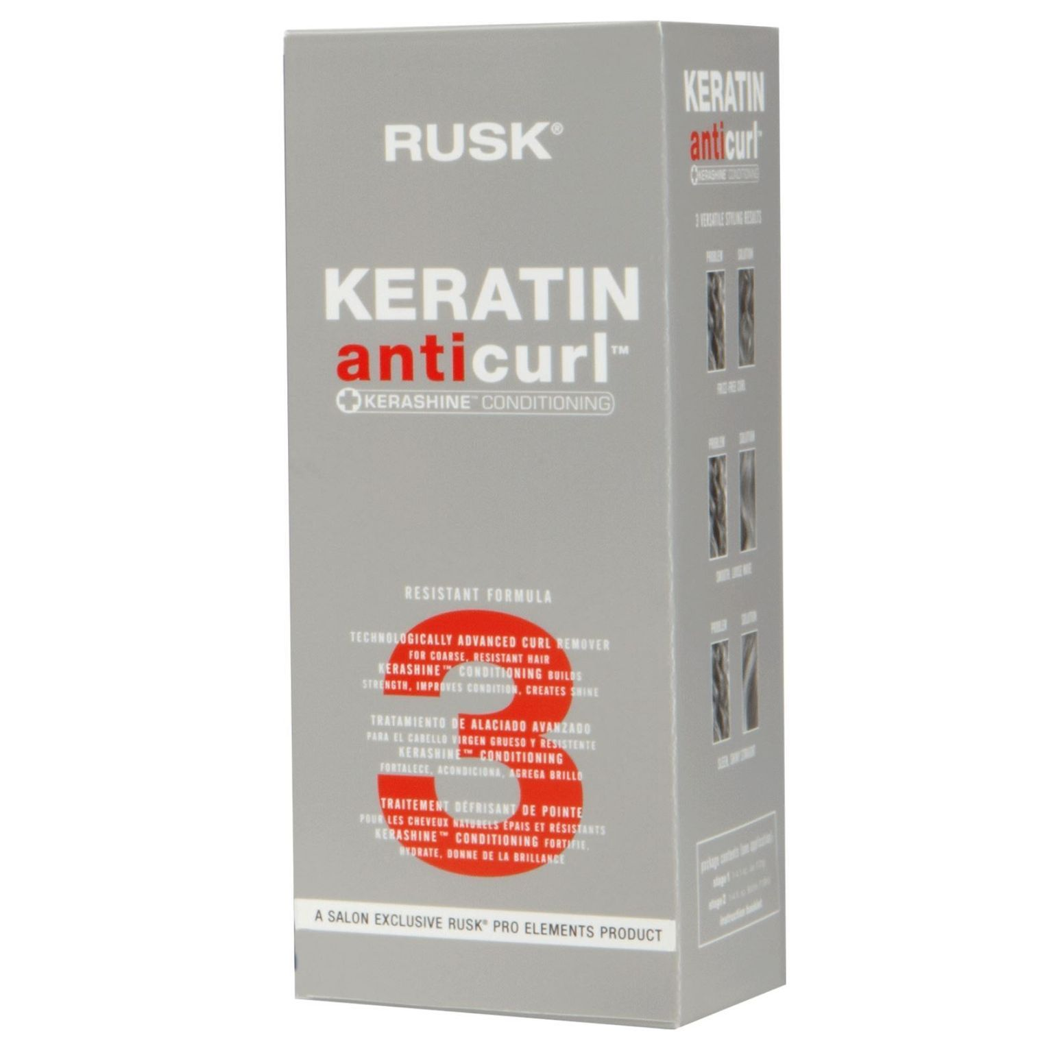 Radical Keratin Anti-Curl Kerashine Conditioning Treatment