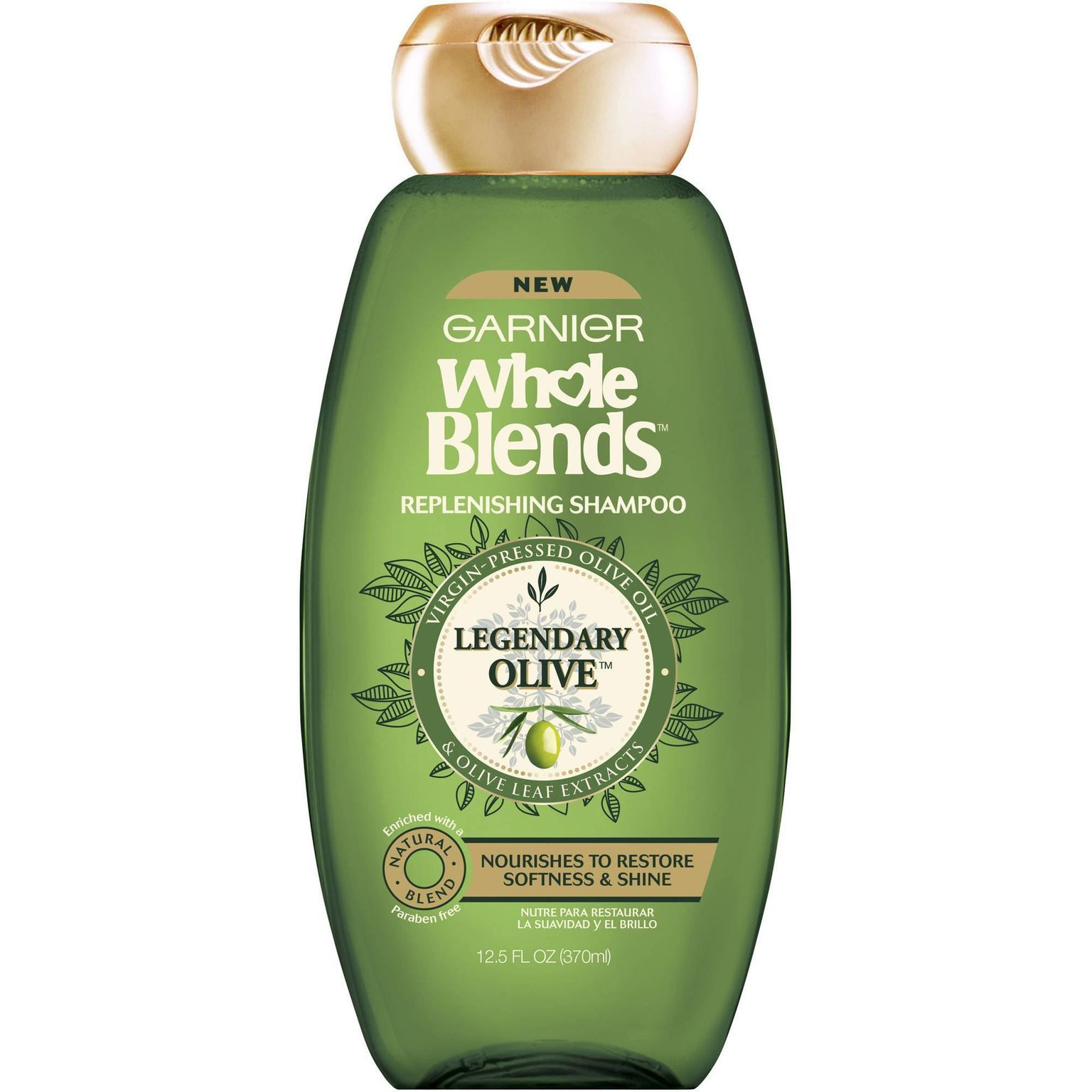 Whole Blends Replenishing Shampoo - Legendary Olive