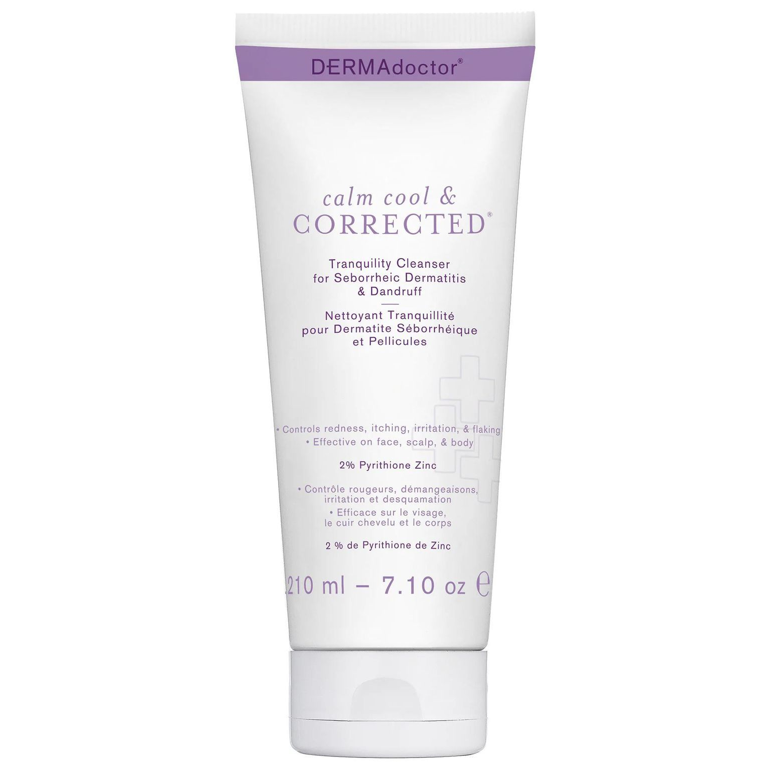 Calm Cool & Corrected Tranquility Cleanser for Seborrheic Dermatitis & Dandruff