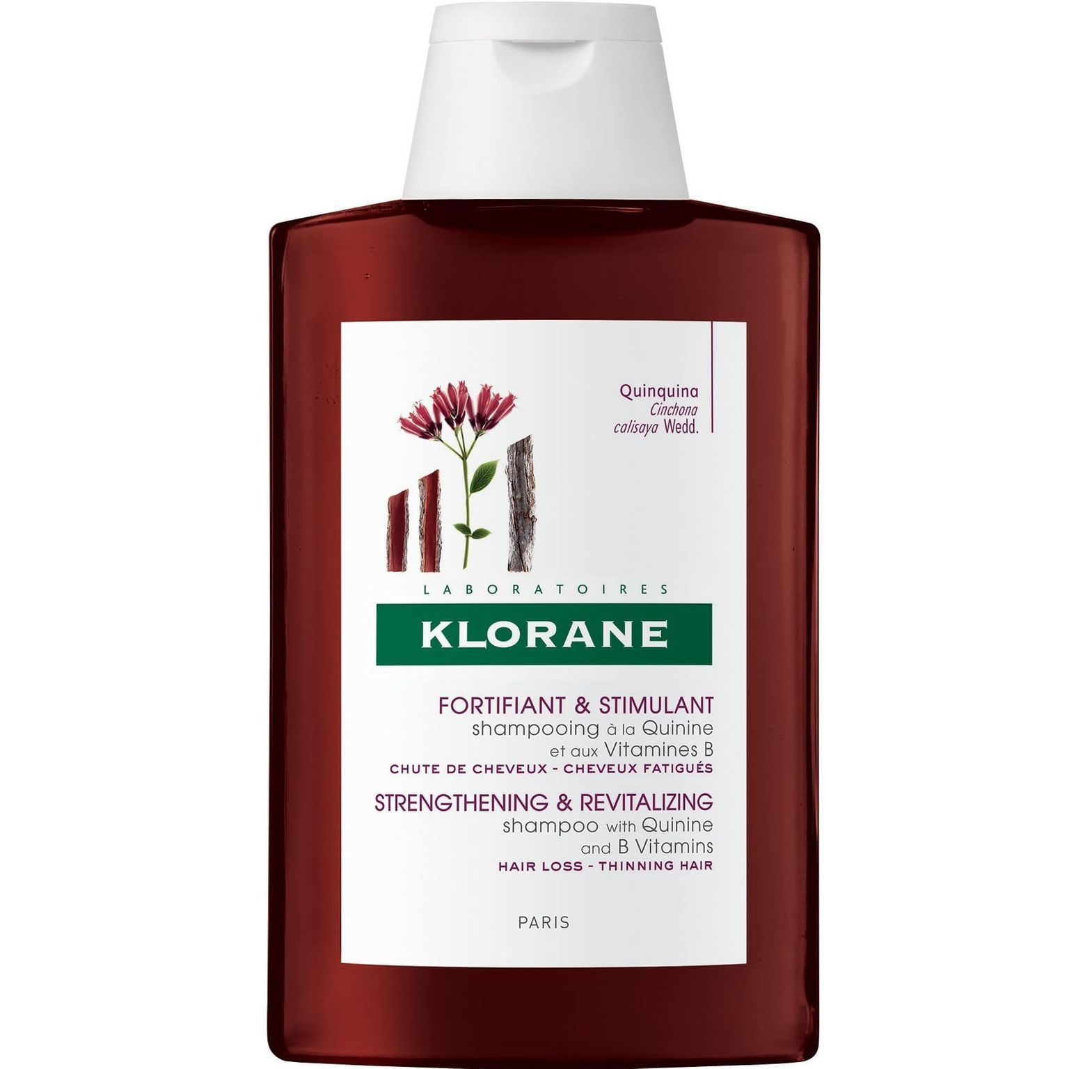 Strengthening Shampoo with Quinine and B Vitamins
