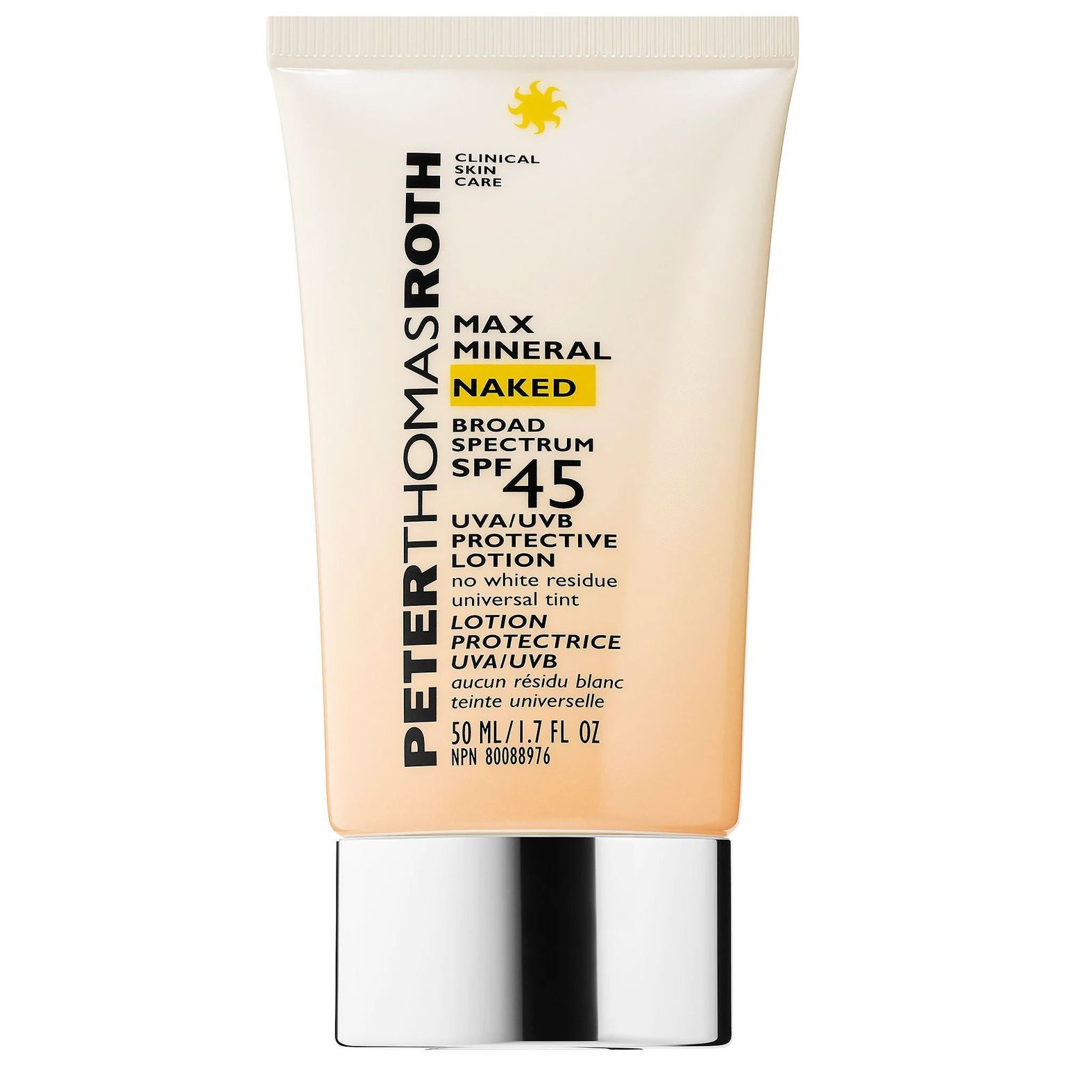 Max Mineral Naked Broad Spectrum SPF 45