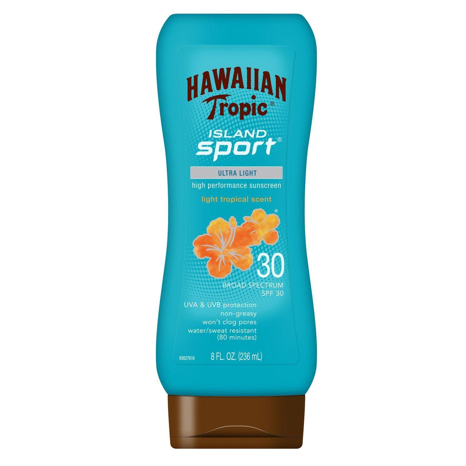 Island Sport High Performance Sunscreen Lotion SPF 30