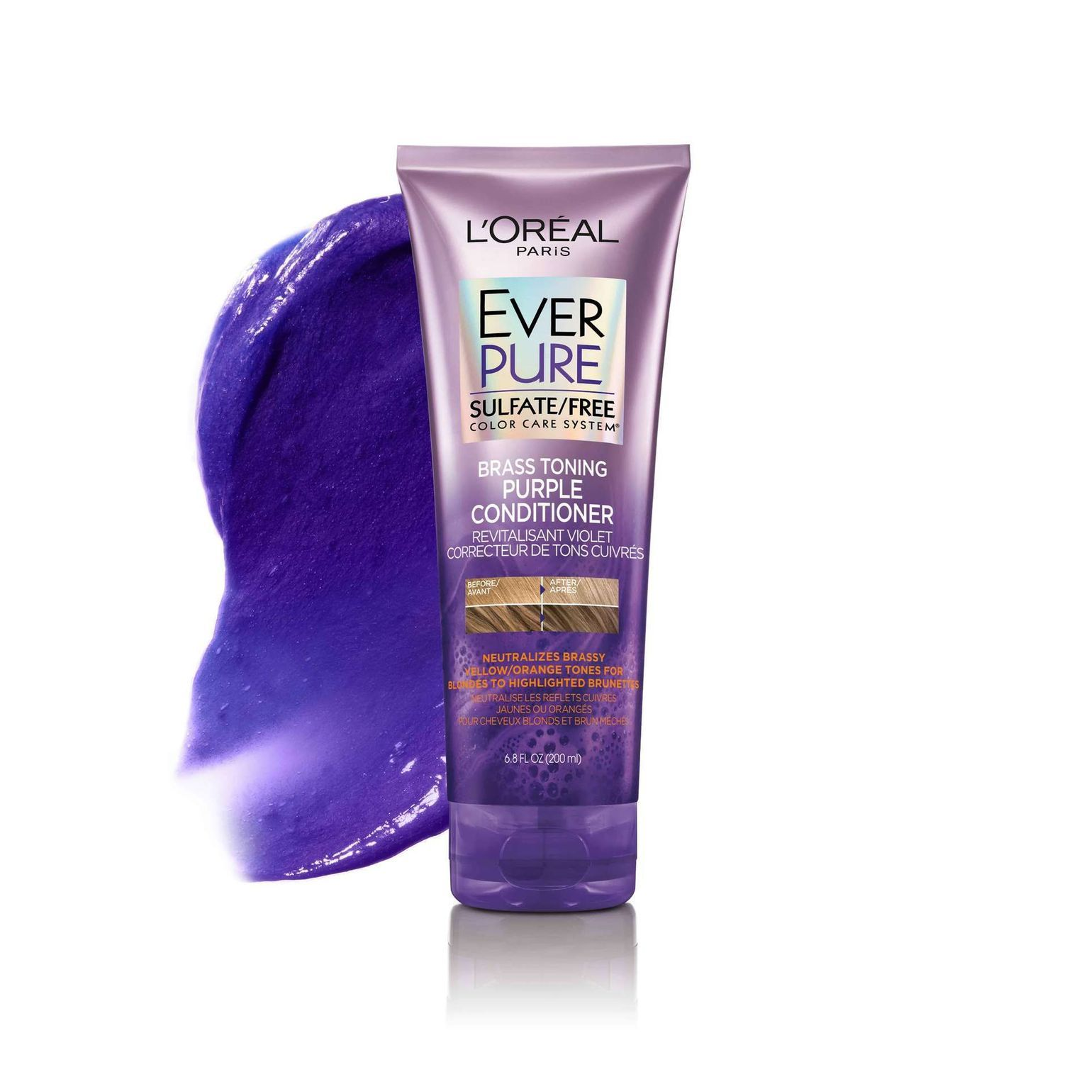 EVERPURE Brass Toning Purple Sulfate Free Conditioner