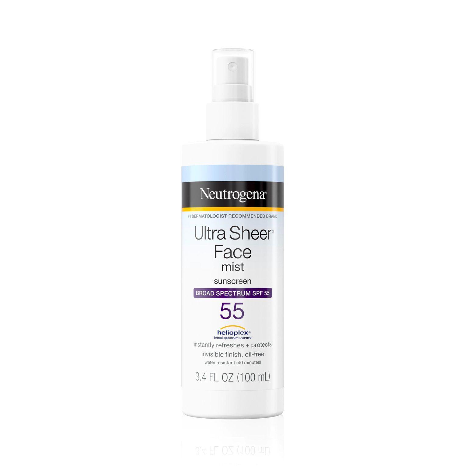 Neutrogena Ultra Sheer Face Mist SPF 55