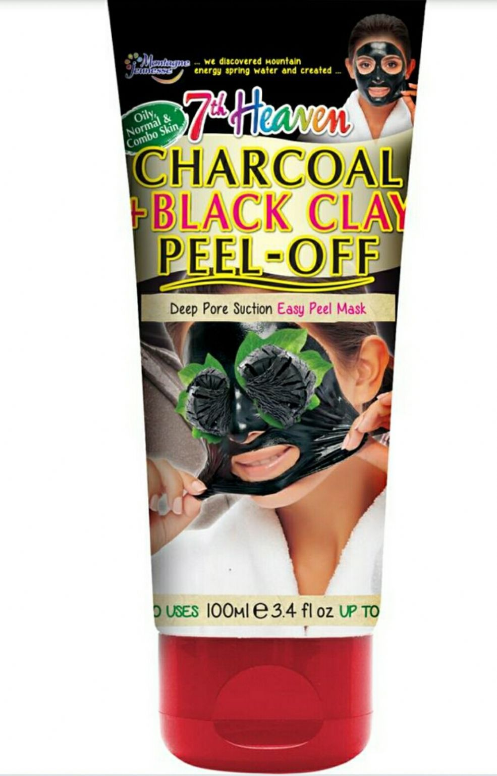 7th Heaven Charcoal + Black Clay Peel off