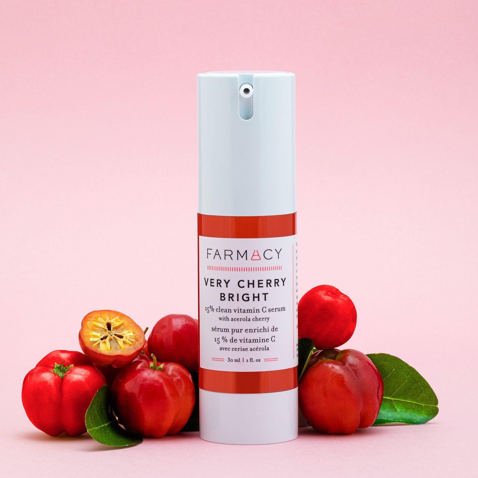 Very Cherry Bright 15% Clean Vitamin C Serum with Acerola Cherry