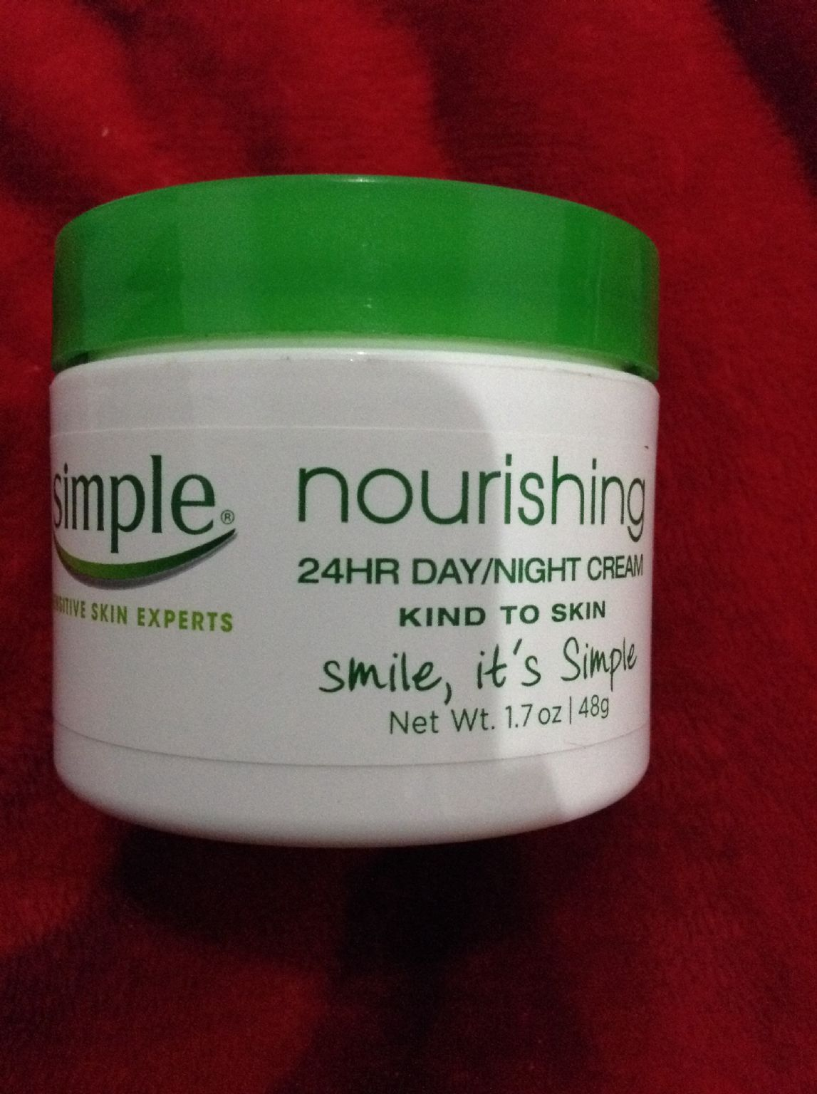 Nourishing 24 HR  Day/Night Cream