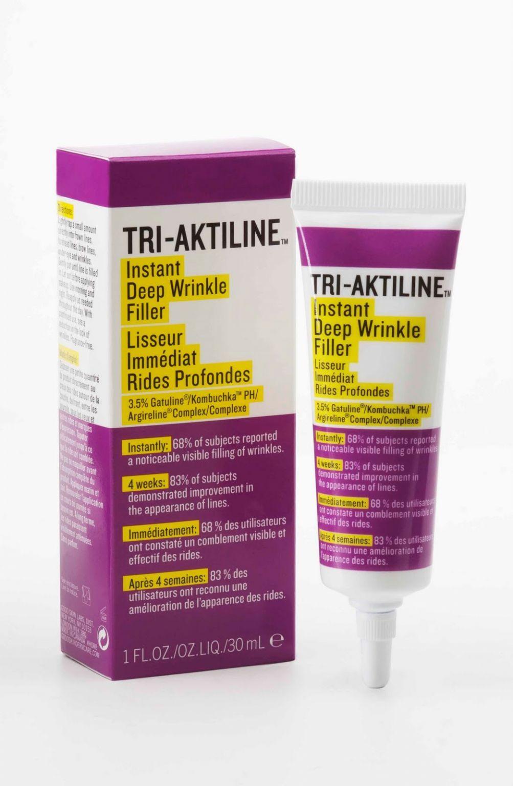 Tri-Aktiline Instant Deep Wrinkle filler