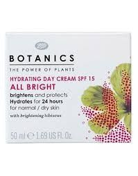 Botanics Hydrating Day Cream All Bright SPF 15