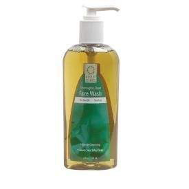 thoroughly clean face wash tea tree oil and sea kelp