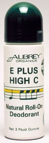 E Plus High C Natural Roll-On Deodorant