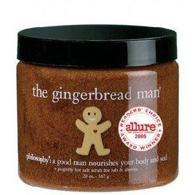Philosophy The Gingerbread Man (scrub)