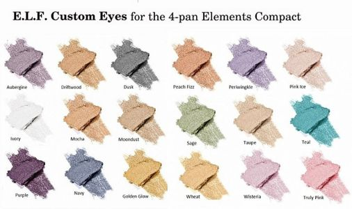 e.l.f. Cosmetics Elements 4-pan Compact
