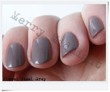 Rimmel Lasting Finish Pro - Steel Grey