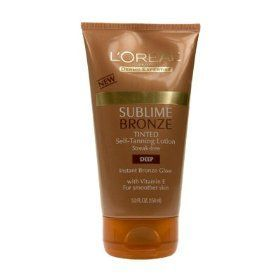 L'Oreal Paris Sublime Bronze Tinted Lotion in Deep