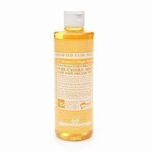 Organic Citrus Orange Liquid Soap