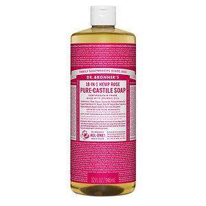 Rose Liquid Castile Soap