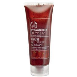 The Body Shop Strawberry Exfoliating Body wash
