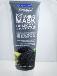 Freeman Beauty Charcoal and Black Sugar Facial Polishing Mask