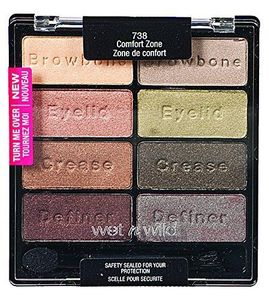 wet n wild Color Icon Palette - Comfort Zone