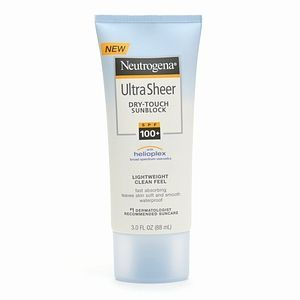 Neutrogena Ultra Sheer Dry-Touch Sunblock SPF 100+ with Helioplex