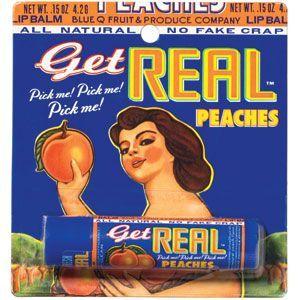 Get Real lip balm  Peaches