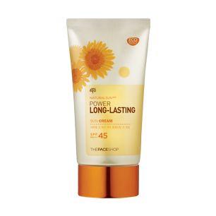 Natural Sun Power Long Lasting Sun Cream SPF 45 PA+++