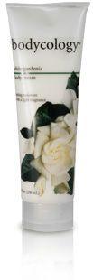white gardenia body cream