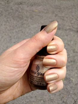 China Glaze Fast Track (Hunger Games) (Uploaded by braisinhussy)